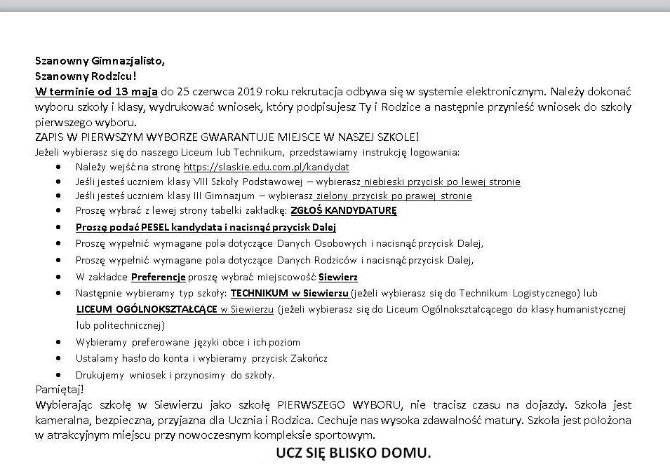 Instrukcja logowania po Szk. Podst. i po Gim_